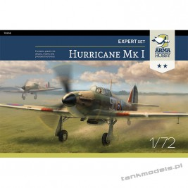 "Hawker Hurricane Mk I ""Battle of Britain"" (expert set) - Arma Hobby 70019"