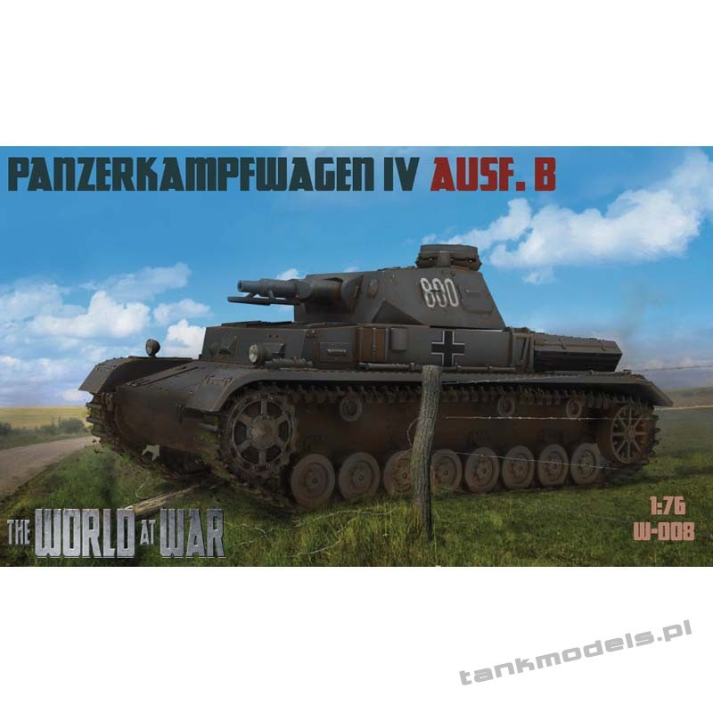 Panzer IV Ausf. B - World At War 008