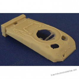 Sherman M4A1 Large Hatch (conv. for Dragon) - Modell Trans 72330