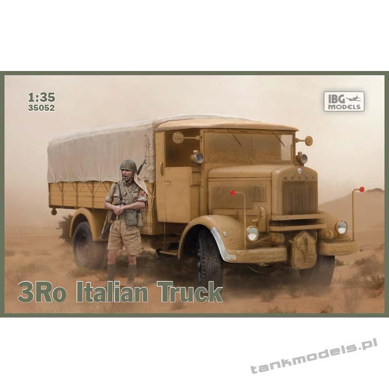 Lancia 3Ro Italian Truck Cargo Version - IBG 35052
