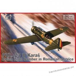 PZL. 23 B Karaś in Romanian Service - IBG 72510