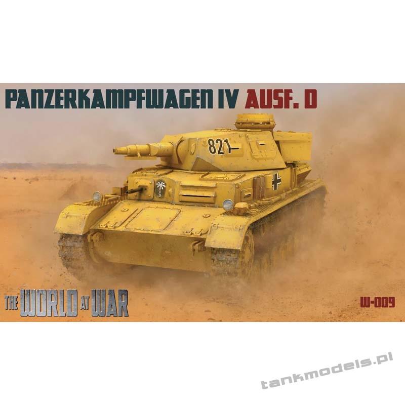Panzer IV Ausf. D Afrika Korps - World At War 009