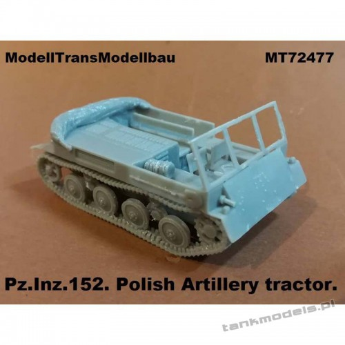Pz.Inz. 152 Polish Artillery tractor - Modell Trans 72477