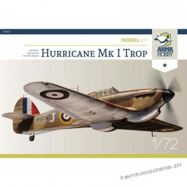 Hurricane Mk I Trop (junior kit) - Arma Hobby 70021