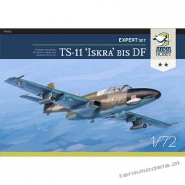 TS-11 Iskra bis DF (expert set) - Arma Hobby 70002