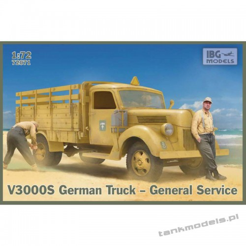 Ford V3000 S German Truck General service - IBG 72071