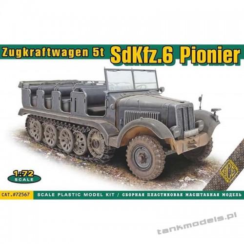 Sd.Kfz.6 Zugkraftwagen 5t Pionier - ACE 72567