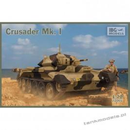 Crusader Mk. I - British Cruiser Tank Mk. VI - IBG 72065