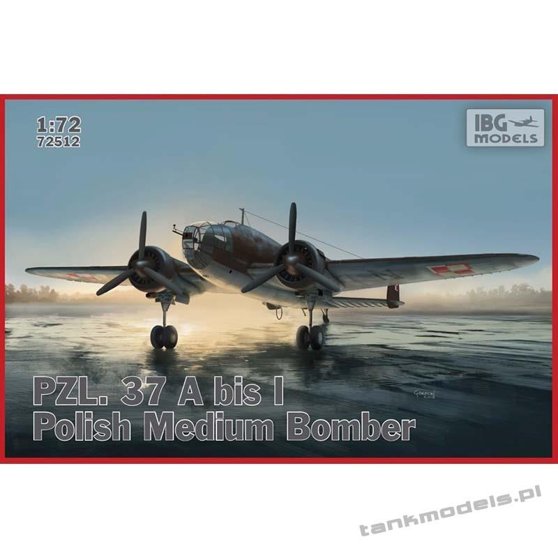 PZL. 37 A bis Łoś – Polish Bomber Plane - IBG 72512