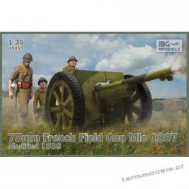 Schneider 75mm Mle 1897 French Field Gun Modified 1938 - IBG 35056