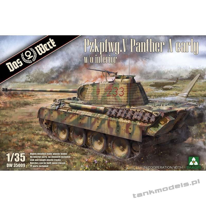 Panzer V Ausf. A Panther early - Das Werk DW35009