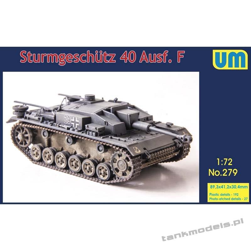 StuG 40 Ausf. F - Unimodels 279