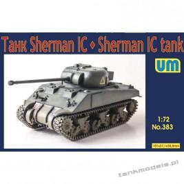 Sherman IC medium tank - Unimodels 383