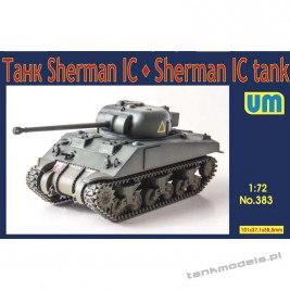 Sherman IC medium tank - Unimodels 383