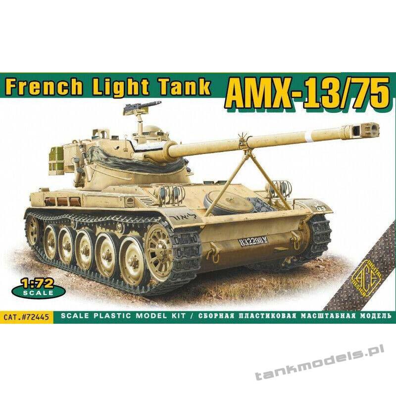 AMX-13/75 French light tank - ACE 72443