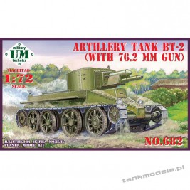 BT-2 with 76,2mm gun Artillery tank - UM-MT 682