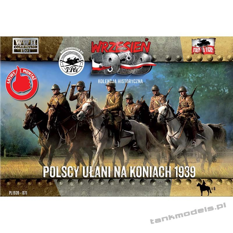 Polish Uhlans on horses 1939 - First To Fight PL1939-71