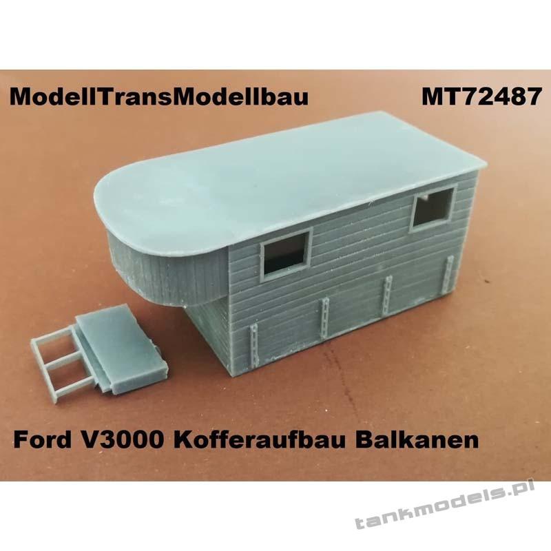 Ford V3000 Kofferaufbau (Balkanen) - Modell Trans 72487