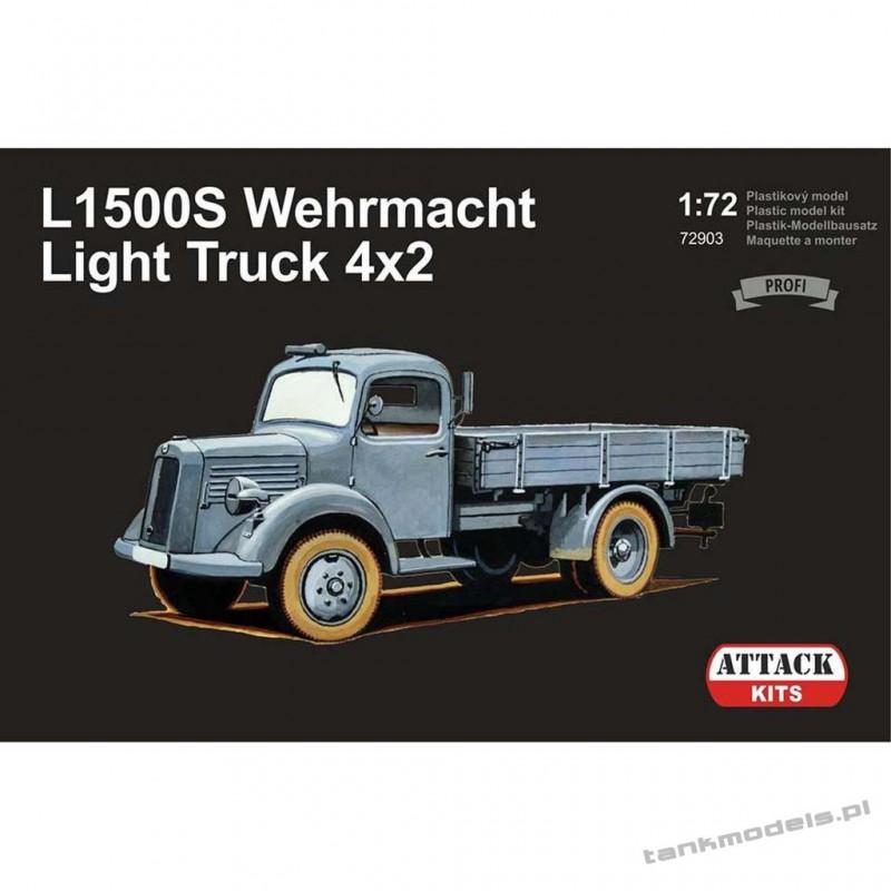 M-B L1500S Wehrmacht Light Truck 4x2 (Profi Line) - Attack 72903