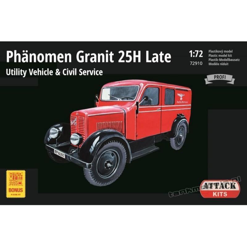 Phänomen Granit 25H Late Utility Civil (Profi Line) - Attack 72910