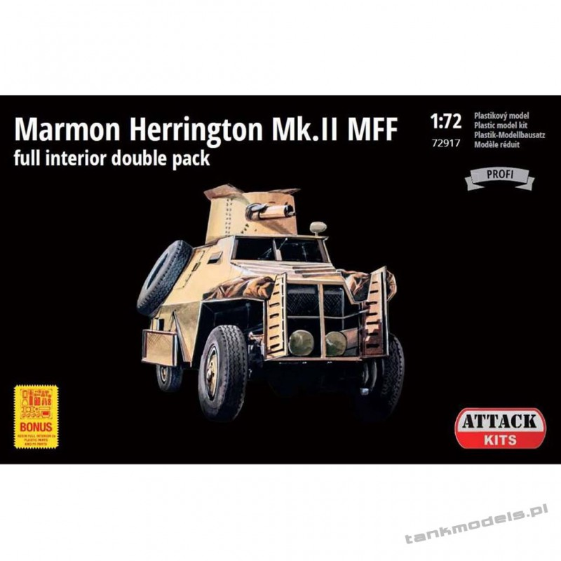 Marmon Herrington Mk.II MFF (Profi Line: full interior double pack) - Attack 72917