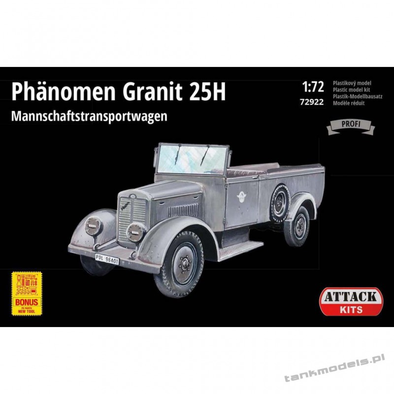 Phänomen Granit 25H Mannschaftstransportwagen (Profi Line) - Attack 72922