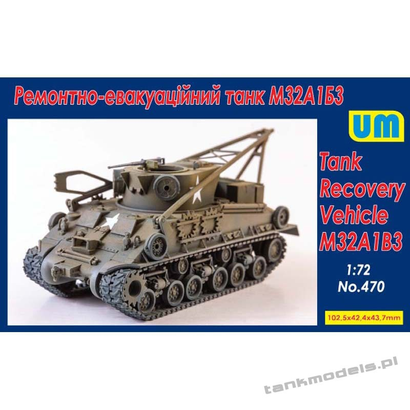 M32A1B3 Tank Recovery - Unimodels 470