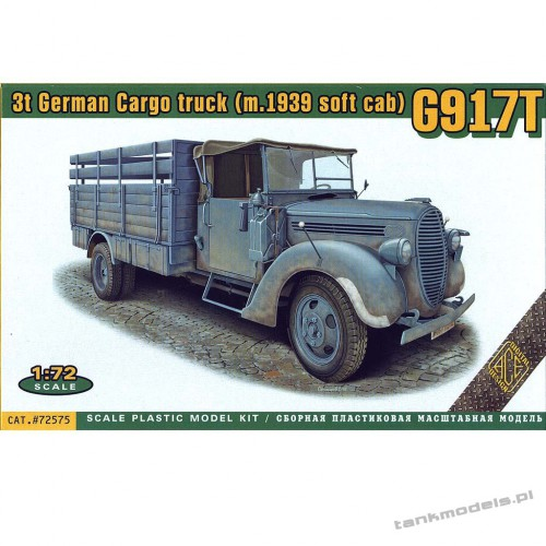 G917T 3t German Cargo truck (soft cab) - ACE 72575