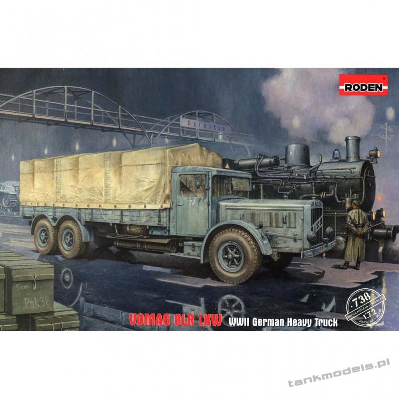 Vomag 8 LR LKW German Heavy Truck - Roden 738