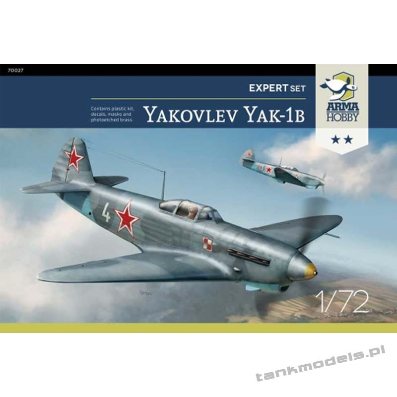 Jakovlev Jak-1b (expert set) - Arma Hobby 70027