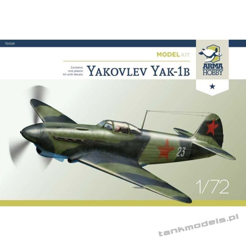 Jakovlev Jak-1b (model kit) - Arma Hobby 70028