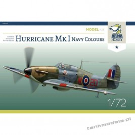 Hurricane Mk I Navy Colours (model kit) - Arma Hobby 70022