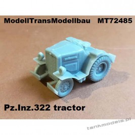Pz.Inz.322 tractor - Modell Trans 72485