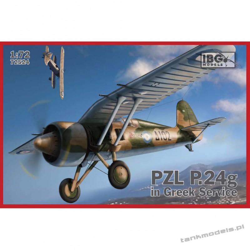 PZL P.24g (in Greek service) - IBG 72524