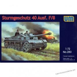Sturmgeschutz 40 Ausf.F/8 - Unimodels 280