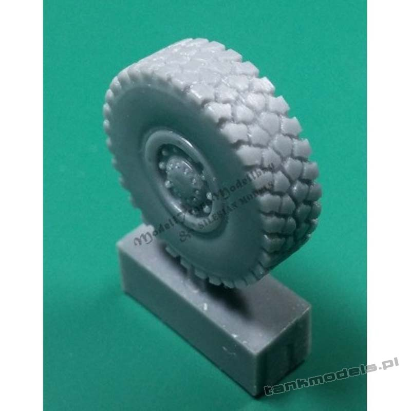 """Wheels for TPz 1 """"Fuchs"""" (late) - Modell Trans 72186"""
