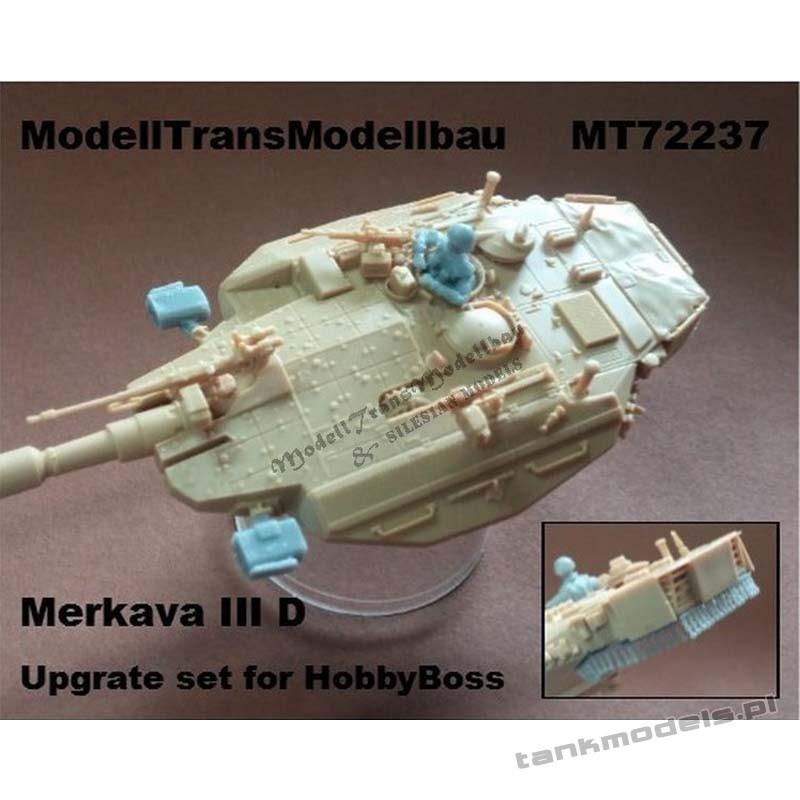 Merkava III D upgrade set for Hobby Boss - Modell Trans 72237