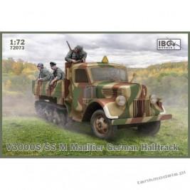 V3000S/SSM Maultier German Halftrack - IBG 72073