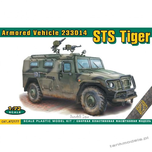 """STS """"Tiger"""" (special transport vehicle 233014) - ACE 72177"""