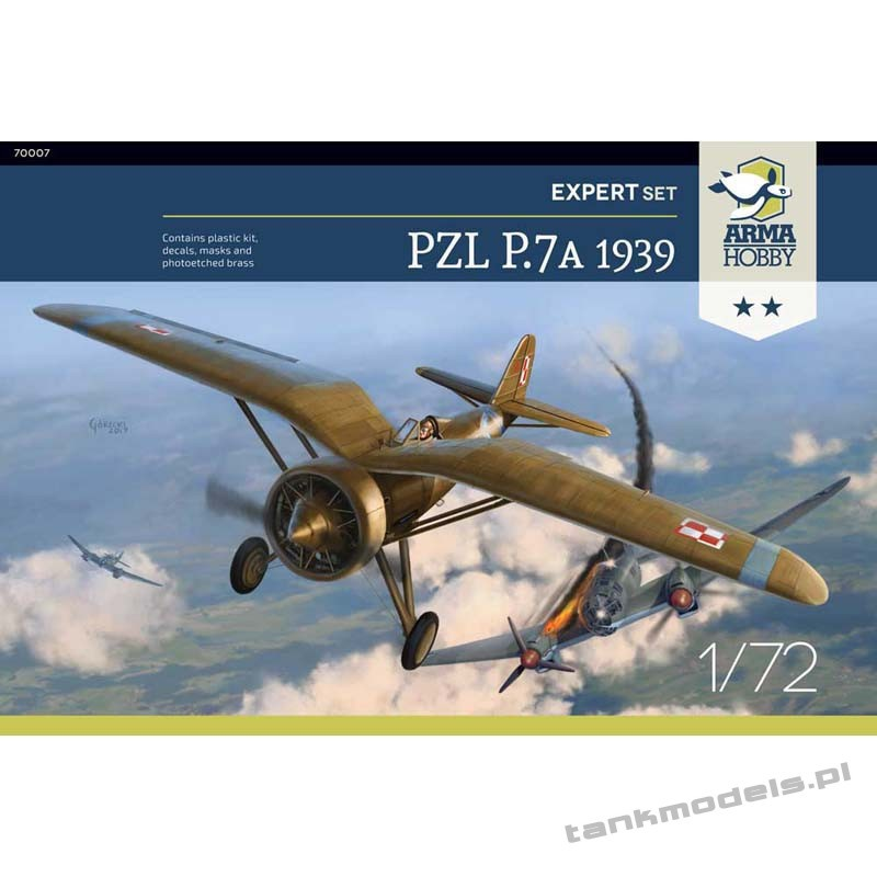 "PZL P.7a ""September 1939"" (expert set) - Arma Hobby 70007"