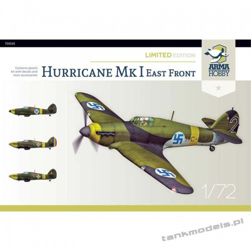Hurricane Mk I Eastern Front - Limited Edition - Arma Hobby 70025