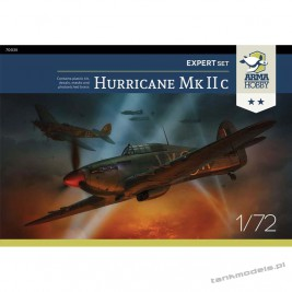 "Hawker Hurricane Mk IIc ""Night Knight"" (expert set) - Arma Hobby 70035"