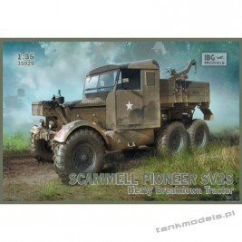 Scammell Pioneer SV2S Heavy Breakdown Tractor - IBG 35029