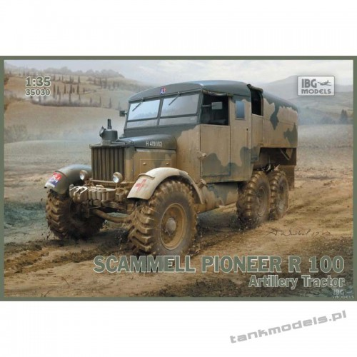 Scammell Pioneer R 100 Artillery Tractor - IBG 35030