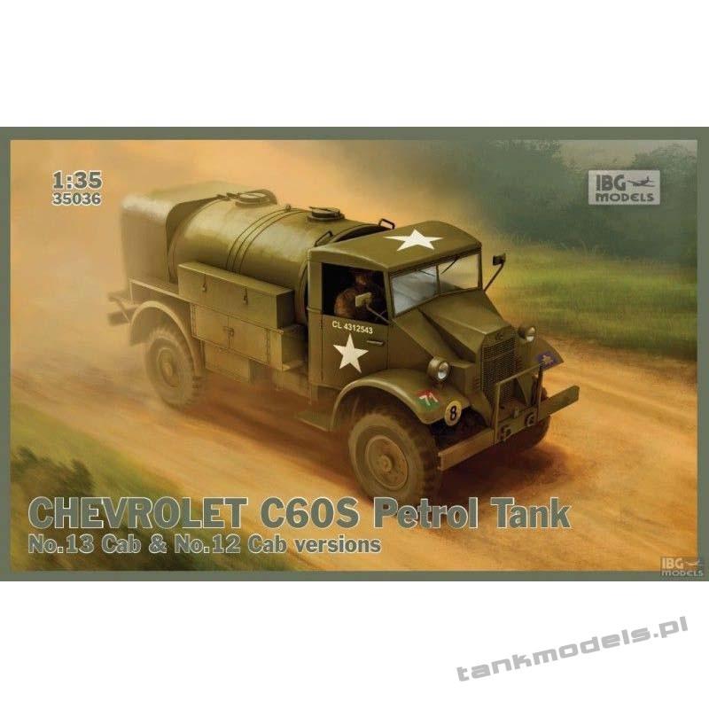 Chevrolet C60S Petrol Tank - IBG 35036