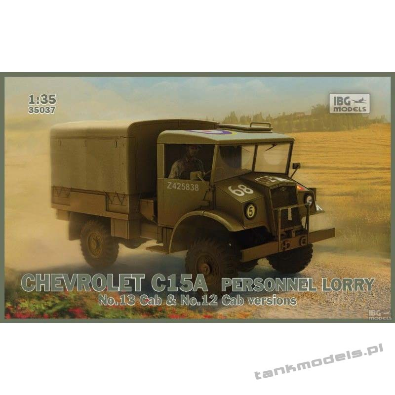 Chevrolet C15A Personnel Lorry Cab 12 & 13 - IBG 35037
