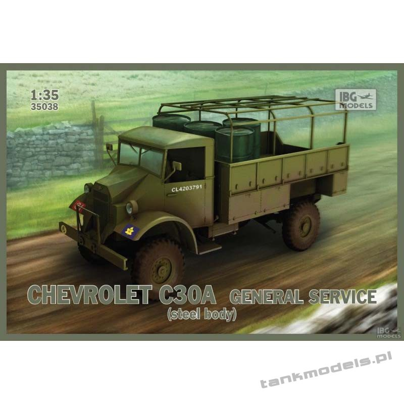 Chevrolet C30A General service (steel body) - IBG 35038