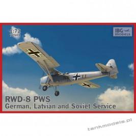 RWD-8 PWS German, Latvian and Soviet service - IBG 72503