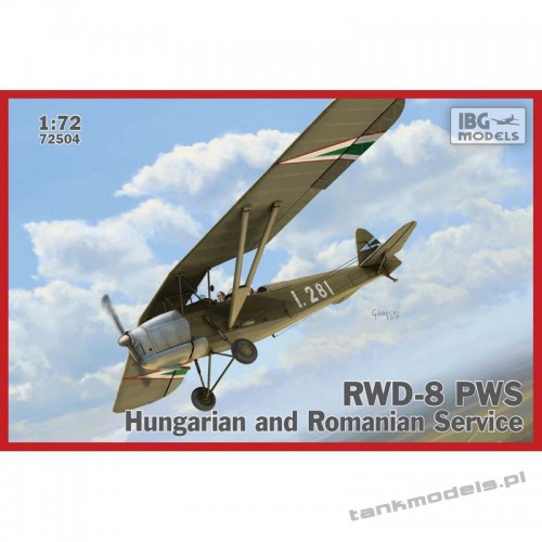 RWD-8 PWS Hungarian and Romanian serwice - IBG 72504
