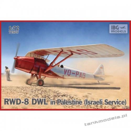 RWD-8 DWL in Palestine (Israel serwice) - IBG 72527